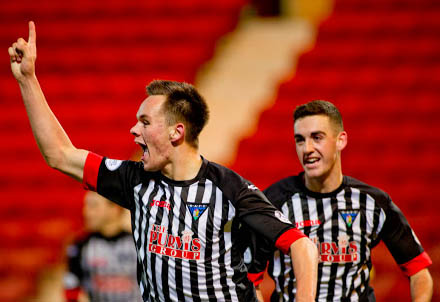 Lawrence Shankland and Shaun Byrne