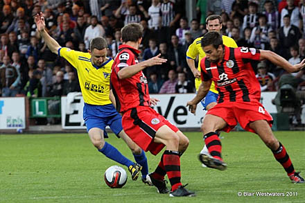 Paul Burns v St Mirren