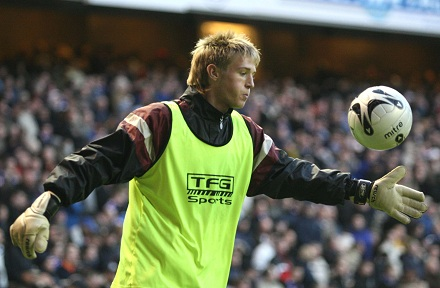 Greg Paterson at Ibrox 11/11/06