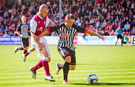 Ryan Wallace v Arbroath