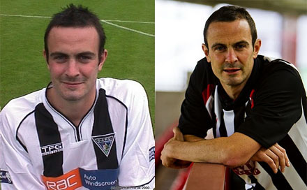 John Potter at Dunfermline 2001 and 2011