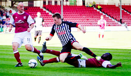 Alex Whittle v Arbroath
