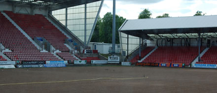 East End Park, Saturday 14th May