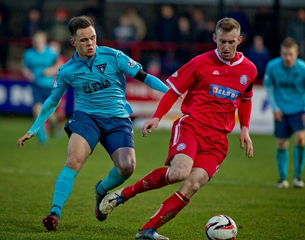 Lawrence Shankland v Brechin City