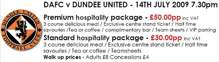 Hospitality packages