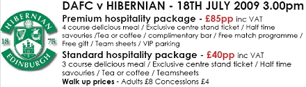 Read more about Hibs hospitality package