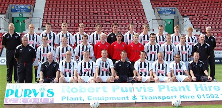 Dunfermline Athletic 2008-09