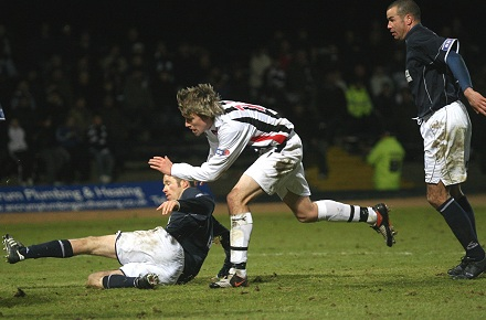 Paul Willis v Dundee 03/01/09