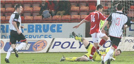 Chris Smith saves Dunfermline v Ross County