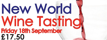 New World Wine Tasting
