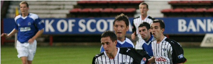 Dunfermline v Queen of the South 180809