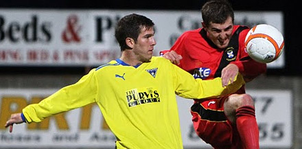 Liam Buchanan v East Fife