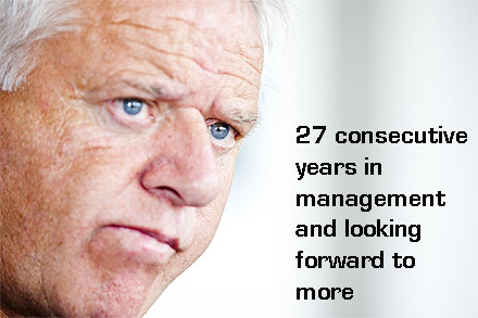 27 consecutive years